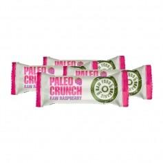 4 x Paleo Crunch Bar, Raw Raspberry, Økologisk