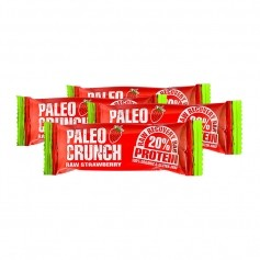 4x Paleo Crunch Raw Recovery Bar, Strawberry