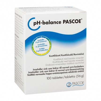Pascoe pH-Balance 100 tabl