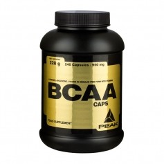 Peak BCAA, kapsler