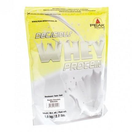 Peak Delicious Muscle Whey Protein Sjokolade Milkshake, pulver