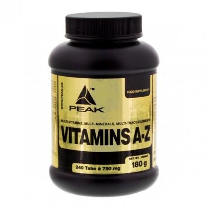 Peak Vitamin A-Z, Tabletten