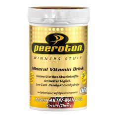 Peeroton Mineral Vitamin Drink Kirsche, Pulver