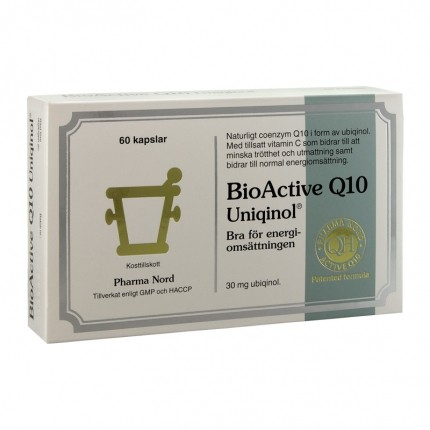 Pharma Nord Bio-Active Uniqinol Q10 30mg 60k