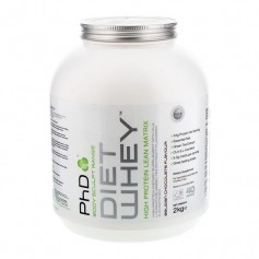 PhD Diet Whey Belgian Chocolate, pulver