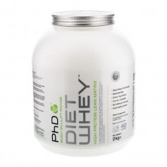 PhD Diet Whey White Chocolate Deluxe, pulver