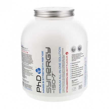 PhD Synergy-ISO-7 Strawberry Delight