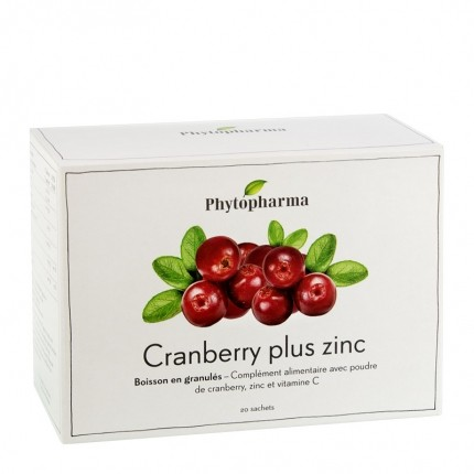 Phytopharma Cranberry plus Zink Trinkgranulat