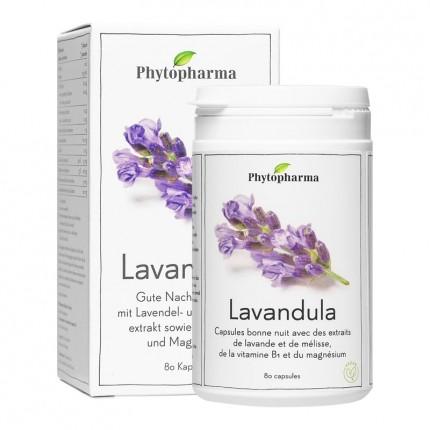 Phytopharma Lavandula, Kapseln