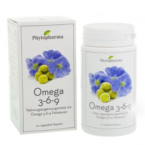 phytopharma omega 3 6 9 kapseln schnell und g nstig bei nu3. Black Bedroom Furniture Sets. Home Design Ideas