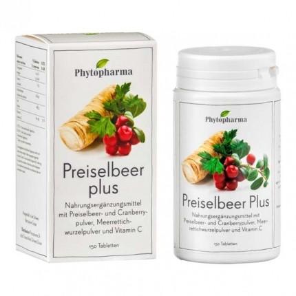 Phytopharma Preiselbeer Plus Tabletten