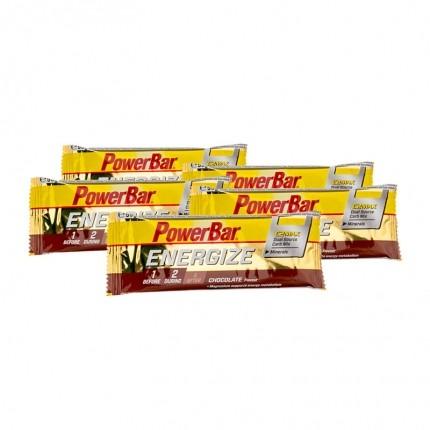 5 x Powerbar Energize Riegel Schokolade