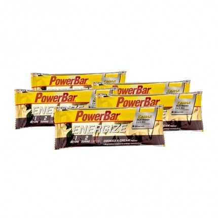 Powerbar Energize, Cookies-Cream, Riegel (5 x 55 g)