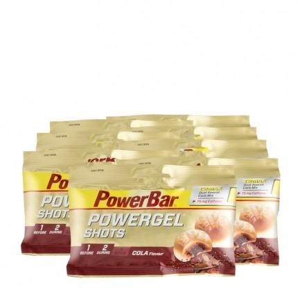 8 x Powerbar Energize Sport Shots Cola + Koffein