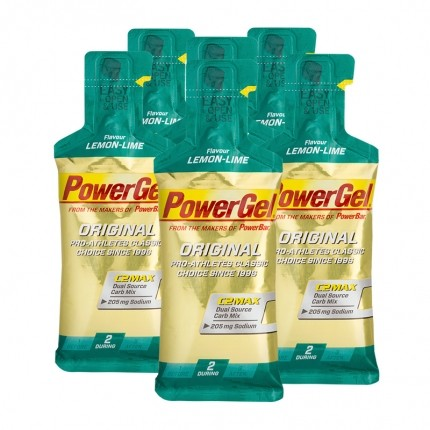 6 x Powerbar Gel Lemon-Lime