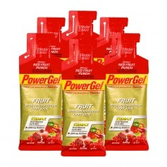 6 x Powerbar Gel Red Fruit Punch