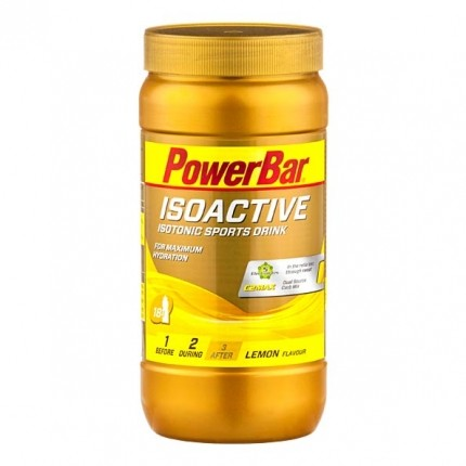 Powerbar Isoactive - Isotonic Sports Drink Lemon, Pulver