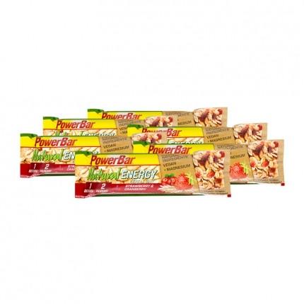 6 x Powerbar Natural Energy Cereal Riegel Erdbeer-Cranberry