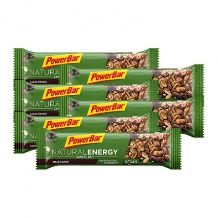 6 x Powerbar Natural Energy Cereal Riegel Kakao-Crunch