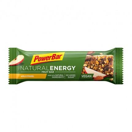 6 x Powerbar Natural Energy Fruit & Nut bar eplestrudel