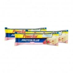 Powerbar, Protéine Plus + L-Carnitine, framboise/yaourt, barre, lot de 3