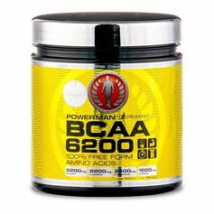 PowerMan BCAA 6200, Tabletten