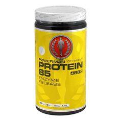 PowerMan Protein 85, Pulver, Erdbeer