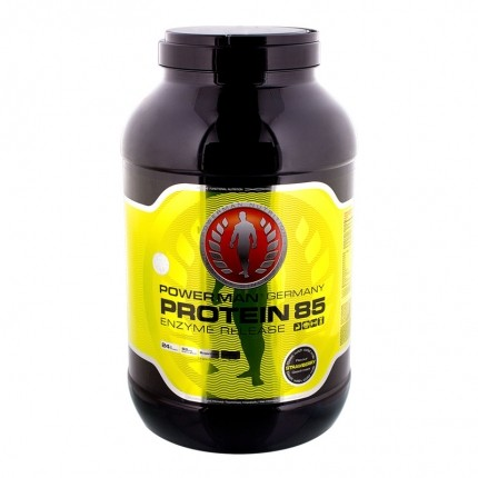 PowerMan Protein 85 Strawberry Powder