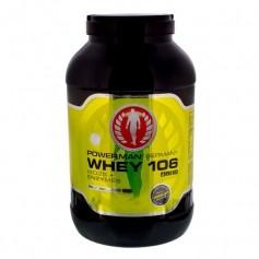 PowerMan WHEY 106 ISO25 + Enzymes Schoko, Pulver