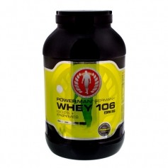 PowerMan WHEY 106 ISO25 + Enzymes Strawberry Powder