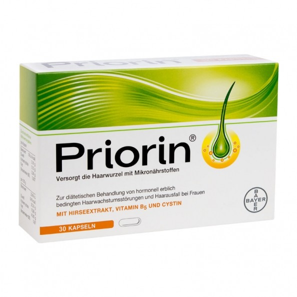 Priorin Capsules For Care And Maintenance Of Hair