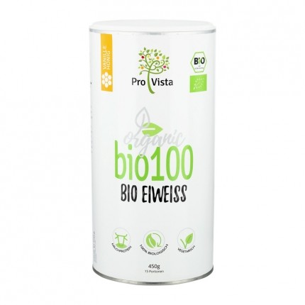 Bio Eiweiß, Vanille, Pulver (420 g)