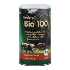 ProVista Organic Chocolate Protein Powder