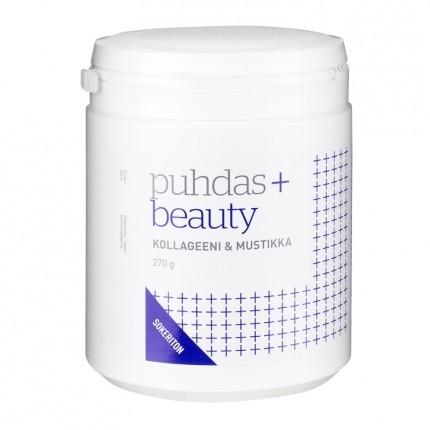 Puhdas+ Puhdas+ Beauty Kollageeni + mustikka 270 g