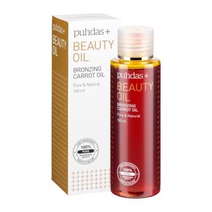 Köpa billiga Puhdas+ Beauty Oil Bronzing Carrot Oil - skönhetsolja online