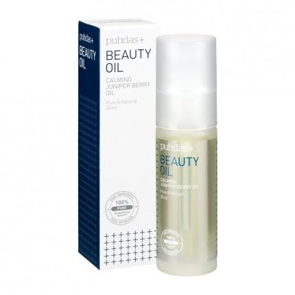 Köpa billiga Puhdas+ Beauty Oil Calming Juniper Berry Oil -skönhetsolja, enbär, EKO online