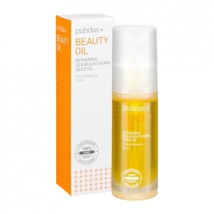 Puhdas+ Puhdas+ Beauty Oil, Repairing Sea Buckthorn Seed Oil 30 ml