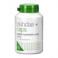 Puhdas+ Caps Vihreä kahvipapu-uute 200 mg