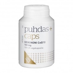 Puhdas+ Puhdas+ Caps CoQ10  Ubikinoni 100 mg