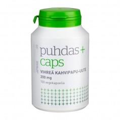 Puhdas+Caps Puhdas+ Caps Vihreä kahvipapu-uute 200 mg