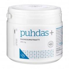 Puhdas+ Puhdas+ Magnesium 250 - 500 mg kampanja (sitraatti)
