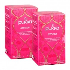 Pukka, Infusion Amour bio, lot de 2