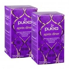Pukka, Infusion bio Après dîner, lot de 2