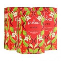 3 x Pukka Revital Tee Bio