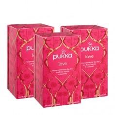 3 x Pukka Love Tee Bio