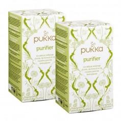Pukka, Infusion Purifier bio, lot de 2