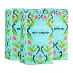 3 x Pukka Refresh Tee Bio