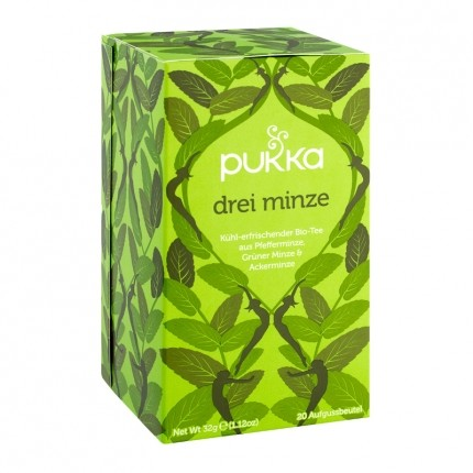 Pukka Genuss-Trilogie Mint Ingwer Tulsi