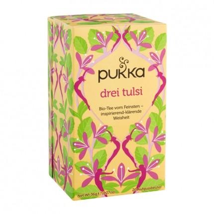 3 x Pukka Drei Tulsi Tee Bio