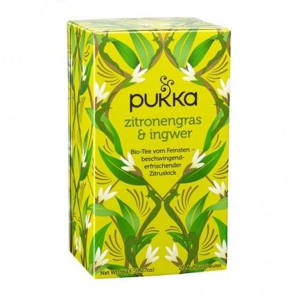 3 x Pukka Zitronengras & Ingwer Tee Bio